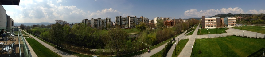 AUBG Campus in Blagoevgrad